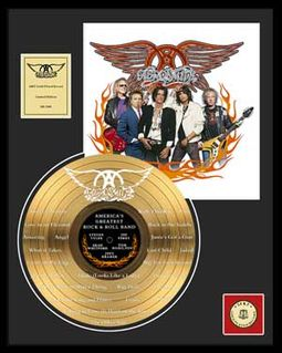Aerosmith - America's Greatest - Framed Limited