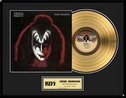 Gene Simmons - Solo Album - Framed Limited