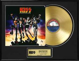 "KISS - Destroyer - Framed Limited Edition 18"" x"