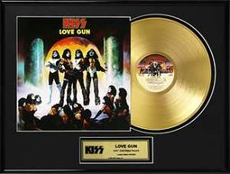 "KISS - Love Gun - Framed Limited Edition 18"" x"