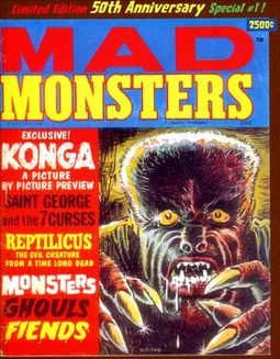 Mad Monsters #1 (Limited Edition - 50th