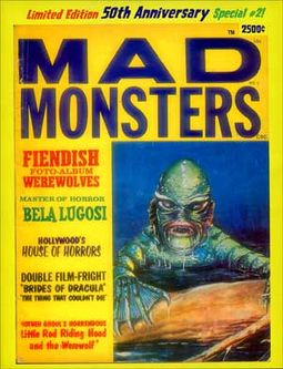 Mad Monsters #2 (Limited Edition - 50th