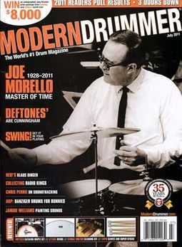 Modern Drummer - Volume #35, Issue #7