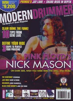 Modern Drummer - Volume #35, Issue #11