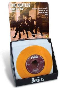 "Baby It's You: 7"" Vinyl Single Display"