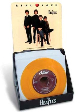 "The Beatles - Real Love: 7"" Vinyl Single Display"