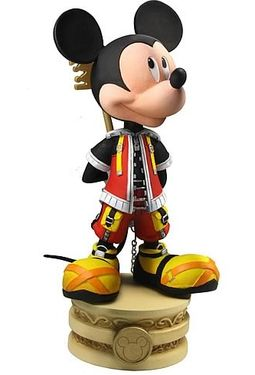 Disney - Kingdom Hearts - King Mickey - Head
