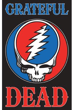 "Grateful Dead - Blacklight Poster (21-1/2"" x"