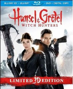Hansel & Gretel: Witch Hunters 3D (Blu-ray + DVD)