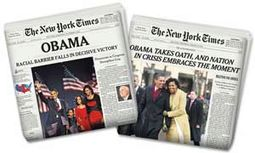 Barack Obama - Election & Inauguration Combo -