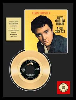 "Elvis Presley - A Fool Such As I - Framed 12"" x"