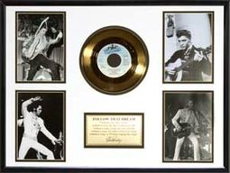 "Elvis Presley - Follow That Dream - Framed 18"" x"