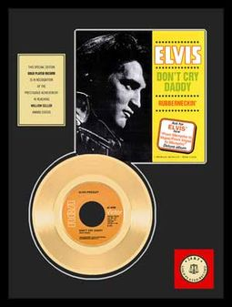 "Elvis Presley - Don't Cry Daddy - Framed 12"" x"