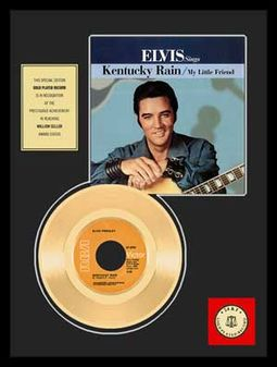 "Elvis Presley - Kentucky Rain - Framed 12"" x 16"""