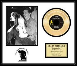 Hound Dog - 50th Anniversary - Framed Limited