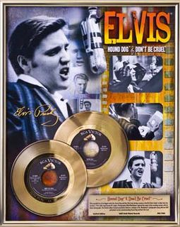 Elvis Presley - Hound Dog & Don't Be Cruel -