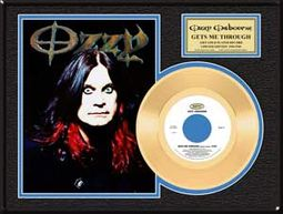 "Ozzy Osbourne - Gets Me Through: Framed 12""x16"""
