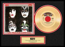 KISS - I Was Made For Loving You - Framed Limited
