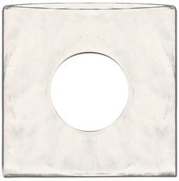 "7"" White Standard Record Sleeves (Package of 2000)"