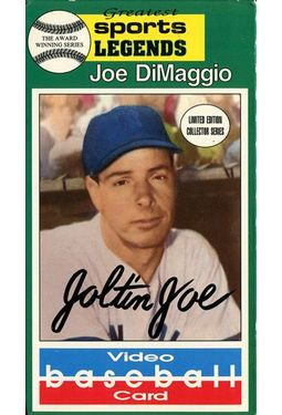 Video Baseball Card: Joe DiMaggio