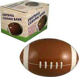 Football - Ceramic Money Bank