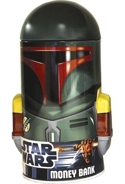 Star Wars - Boba Fett: Shaped Tin Bank