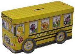 Sesame Street - Bus Bank