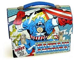 Captain America - Blue Handle: Large Workman's
