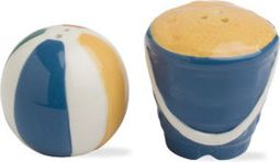 Beachball and Pail - Multi Colored Salt & Pepper