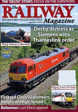 The Railway Magazine (August 2011) [UK Import]