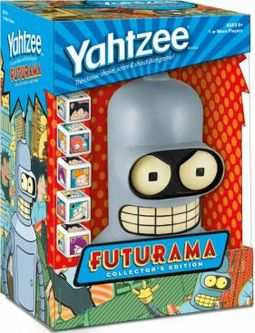 Futurama - Yahtzee Board Game