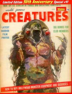 World Famous Creatures #4 (Limited Edition - 50th