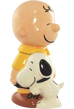 Peanuts - Cookie Jar: Charlie Brown & Snoopy