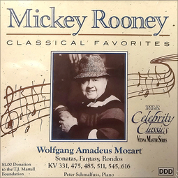 Mickey Rooney Classical Favorites - Wolfgang