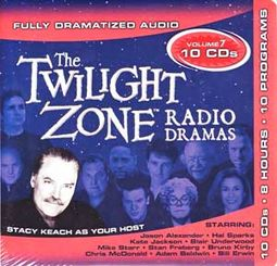 Twilight Zone - Radio Dramas, Volume 7 (10-CD)
