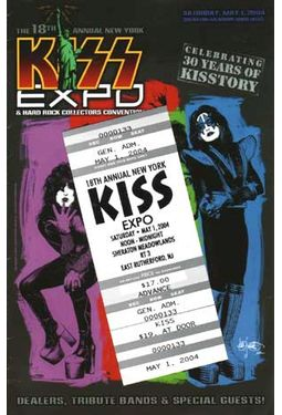 KISS - Convention Guide & Ticket: 18th Annual New