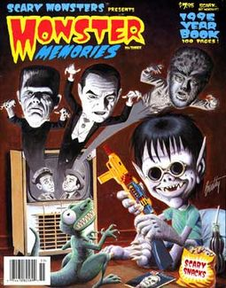 Monster Memories #3 (1995 Scary Monsters Magazine