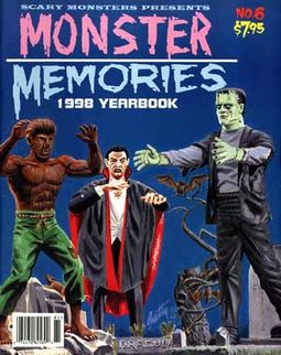 Monster Memories #6 (1998 Scary Monsters Magazine