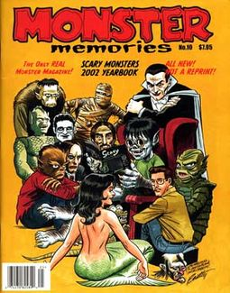 Monster Memories #10 (2002 Scary Monsters
