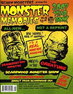 Monster Memories #15 (2007 Scary Monsters