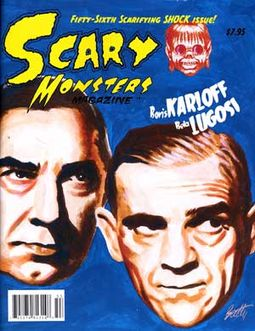 Scary Monsters Magazine #56