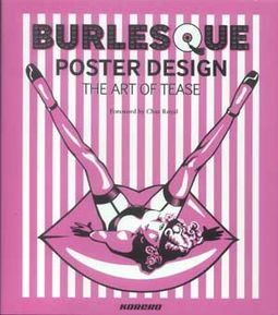 Burlesque Poster Design - The Art of Tease
