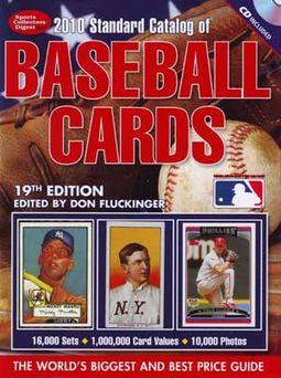 Standard Catalog Of Baseball Cards 2010 [19th