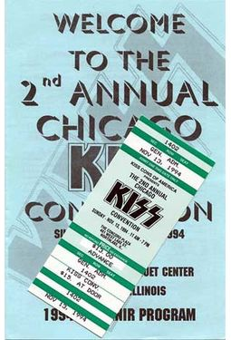 KISS - Convention Guide & Ticket: 2nd Annual