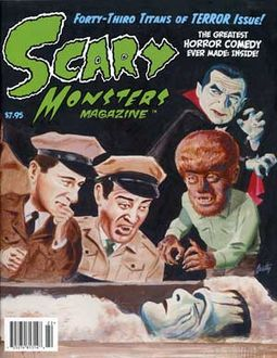 Scary Monsters Magazine #43