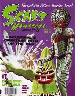 Scary Monsters Magazine #35