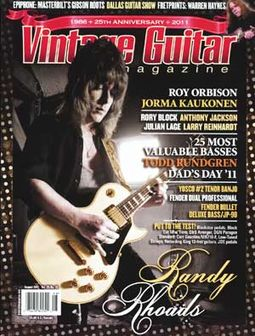 Vintage Guitar - Volume #25, Issue #10