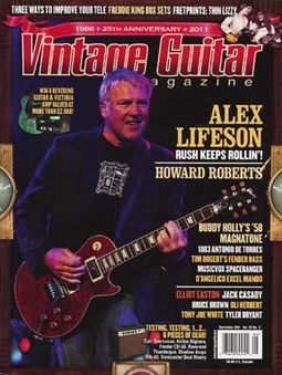 Vintage Guitar - Volume #25, Issue #11