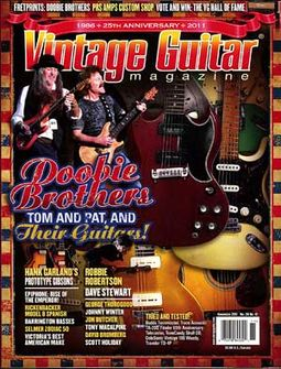 Vintage Guitar - Volume #26, Issue #1