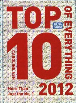 USA TODAY Top 10 of Everything 2012